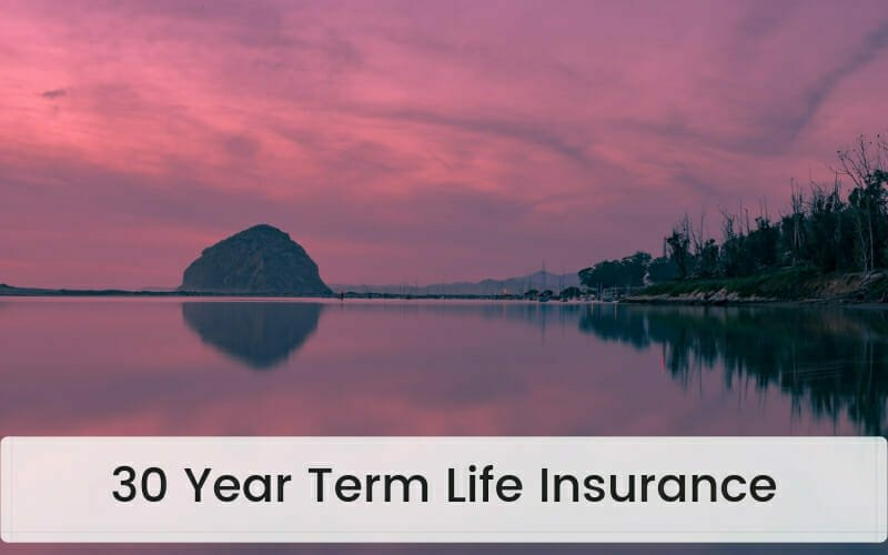 30 Year Term Life Insurance