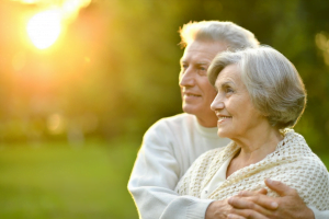 Couple with Term Life Insurance for Seniors