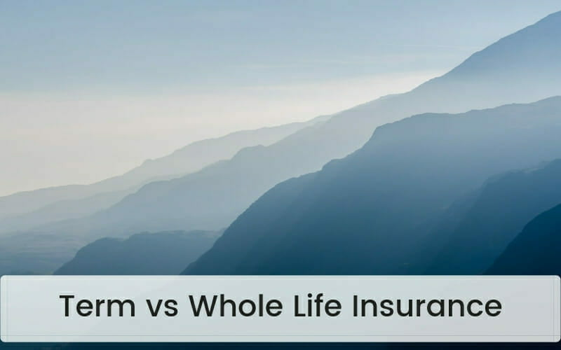 Term vs whole life insurance guide