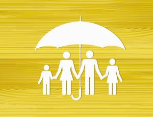 Whole life insurance symbol