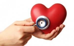 doctor looking at Heart disease