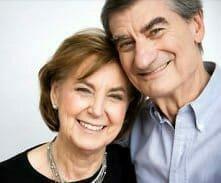 Senior couple with life insurance
