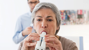Woman with Asthma getting Life Insurance